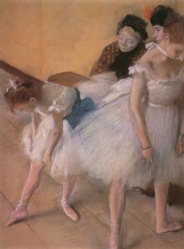 Edgar Degas : Before the Rehearsal