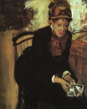 Edgar Degas : Portrait of Mary Cassatt