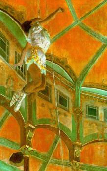 Edgar Degas : Miss La La at the Cirque Fernando