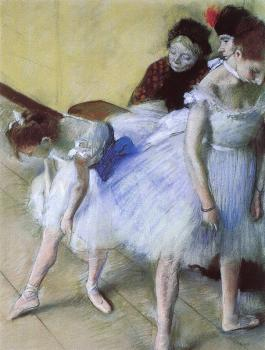 Edgar Degas : The Dance Examination