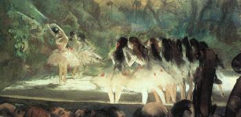 Edgar Degas : Ballet at the Paris Opera