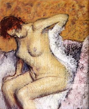 Edgar Degas : After The Bath IV