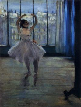 Edgar Degas : Dancer At The Photographer's Studio