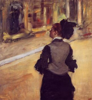 Edgar Degas : A Visit to the Museum