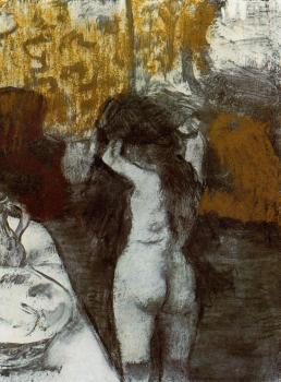 Edgar Degas : After the Bath V