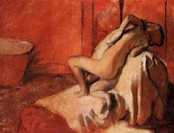 Edgar Degas : After the Bath XIV