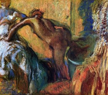 Edgar Degas : After the Bath XV