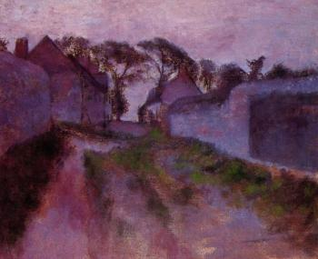 Edgar Degas : At Saint Valery sur Somme
