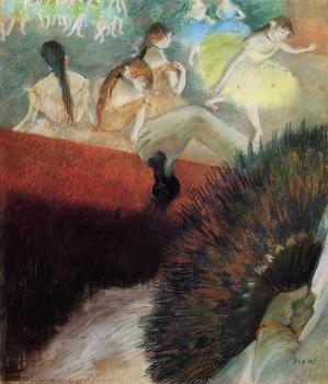 Edgar Degas : At the Ballet II