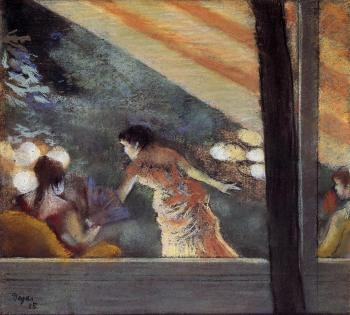 Edgar Degas : At the Cafe des Ambassadeurs