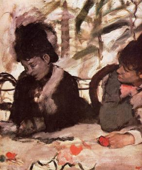 Edgar Degas : At the Cafe