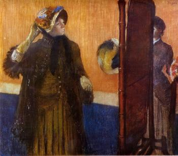 Edgar Degas : At the Milliner's V