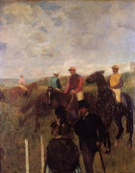Edgar Degas : At the Races