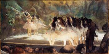 Edgar Degas : Ballet at the Paris Opera II