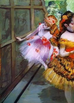 Edgar Degas : Ballet Dancers in Butterfly Costumes
