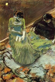 Edgar Degas : Before the Curtain Call