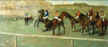 Edgar Degas : Before the Start II
