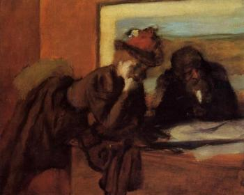 Edgar Degas : Conversation