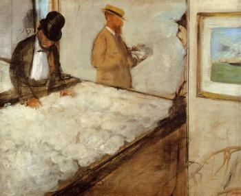 Edgar Degas : Cotton Merchants in New Orleans