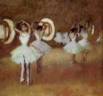 Edgar Degas : Dance Rehearsal in the Studio of the Opera