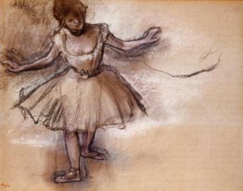 Edgar Degas : Dancer