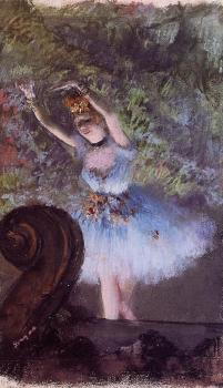 Edgar Degas : Dancer II