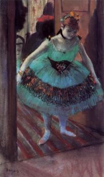 Edgar Degas : Dancer Leaving Her Dressing Room