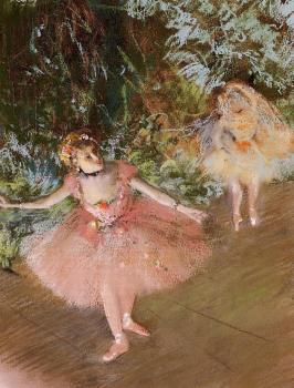 Edgar Degas : Dancer on Stage
