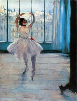 Edgar Degas : Dancer Posing