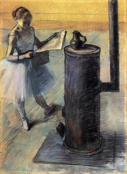 Edgar Degas : Dancer Resting