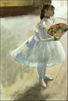 Edgar Degas : Dancer with a Fan