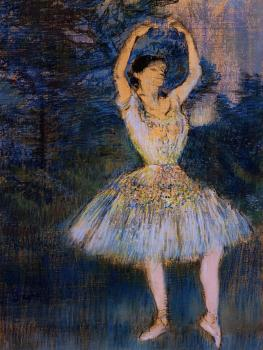Edgar Degas : Dancer with Raised Arms