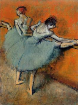 Edgar Degas : Dancers at the Barre
