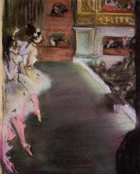 Edgar Degas : Dancers at the Old Opera House