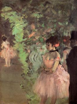 Edgar Degas : Dancers Backstage