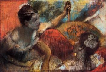 Edgar Degas : Dancers in a Box