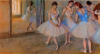 Edgar Degas : Dancers in a Studio
