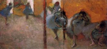 Edgar Degas : Dancers in a Studio II