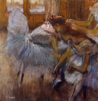 Edgar Degas : Dancers Relaxing