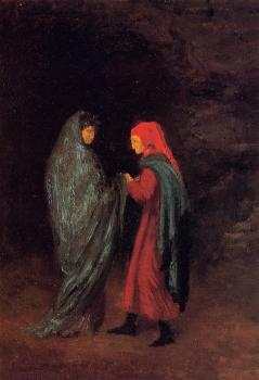 Edgar Degas : Dante and Virgil at the Entrance to Hell