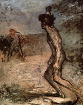 Edgar Degas : David and Goliath