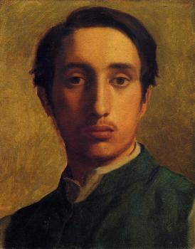 Degas in a Green Jacket II