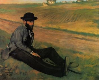 Edgar Degas : Eugene Manet, Brother to Edouard Manet