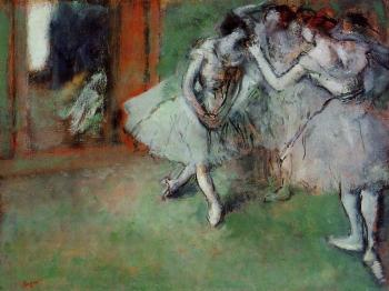 Edgar Degas : Group of Dancers