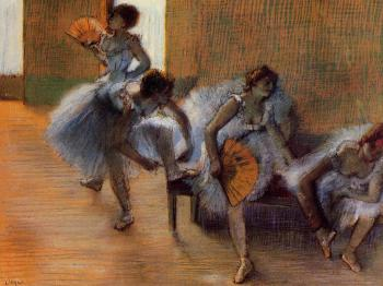 Edgar Degas : In the Dance Studio