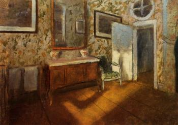Edgar Degas : Interior at Menil Hubert