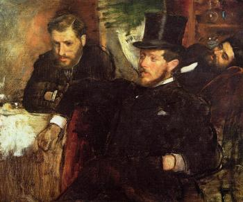 Edgar Degas : Jeantaud, Linet and Laine