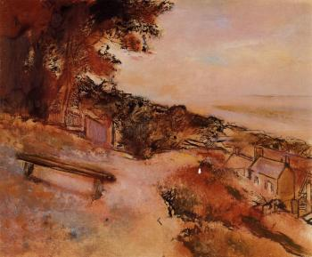 Edgar Degas : Landscape by the Sea