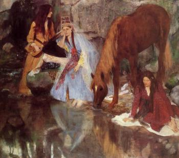 Edgar Degas : Mademoiselle Fiocre in the Ballet La Source