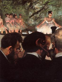 Edgar Degas : Musicians in the Orchestra